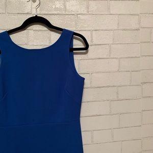 J Crew royal blue dress size 6